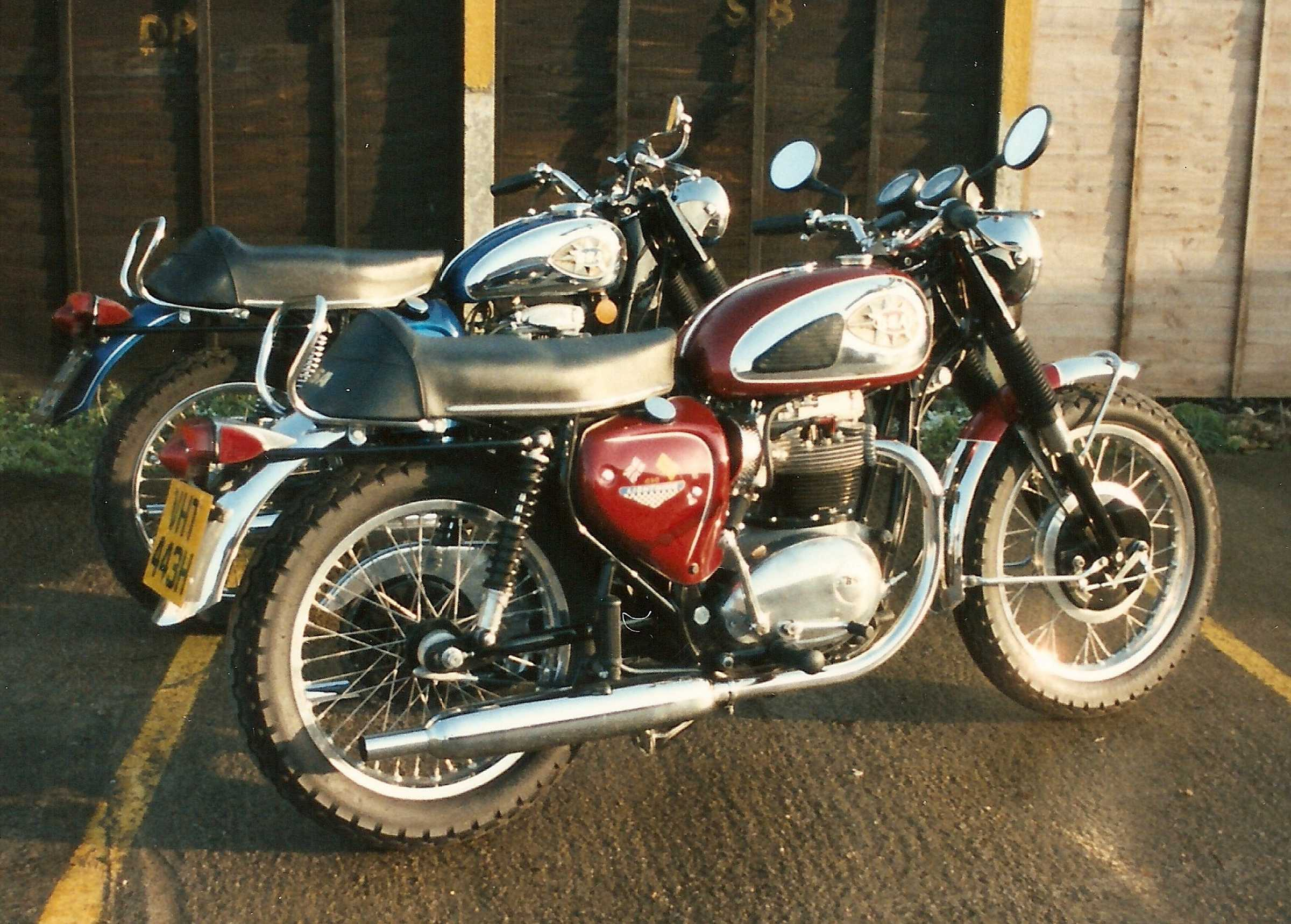 A 1970 Lightning I restored and owned for a while together with a 500cc Royal Star of the same vintage
