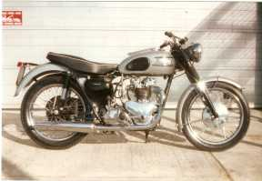 Triumphs of all ages obviously feature very heavily like this pre-unit T100, again with some subtle improvements