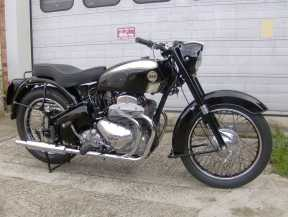 A real gentleman's motorcycle - a late Ariel Square 4 destined for Australia