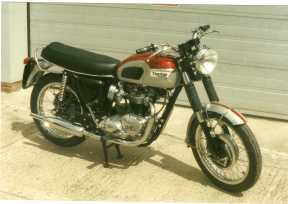 What must be the ultimate this 1969 Triumph T120 Bonnie